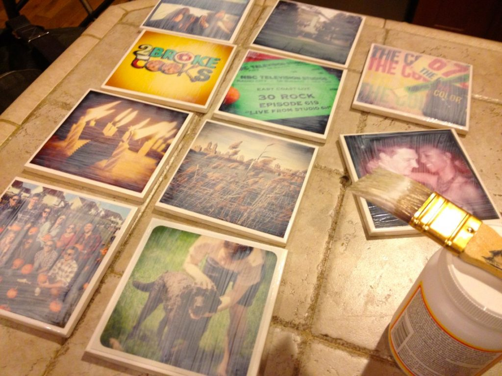 DIY Instagram Coasters