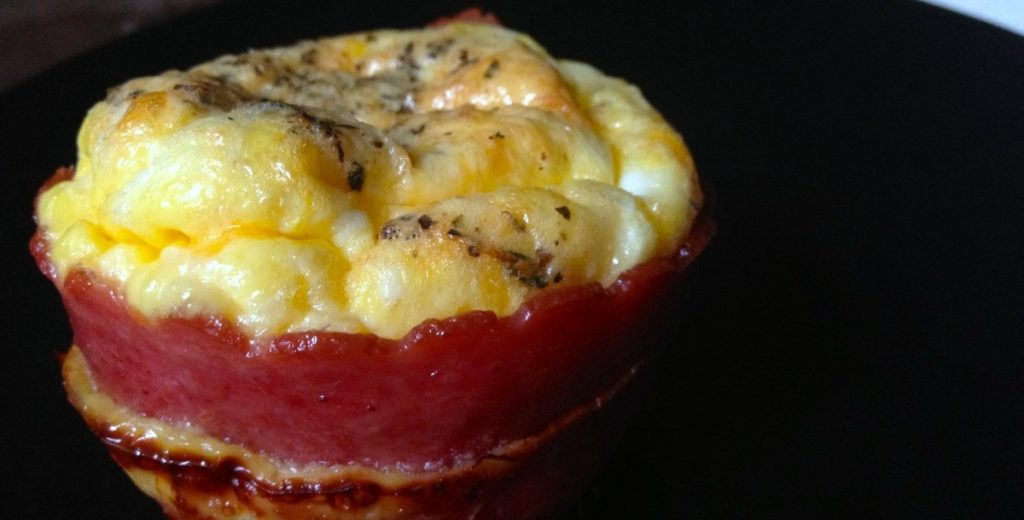 Omelete Cupcakes