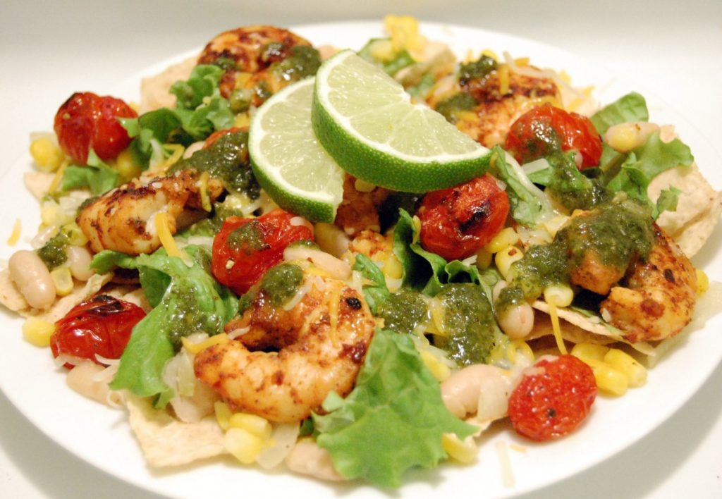 Chipotle-Lime Shrimp Salad