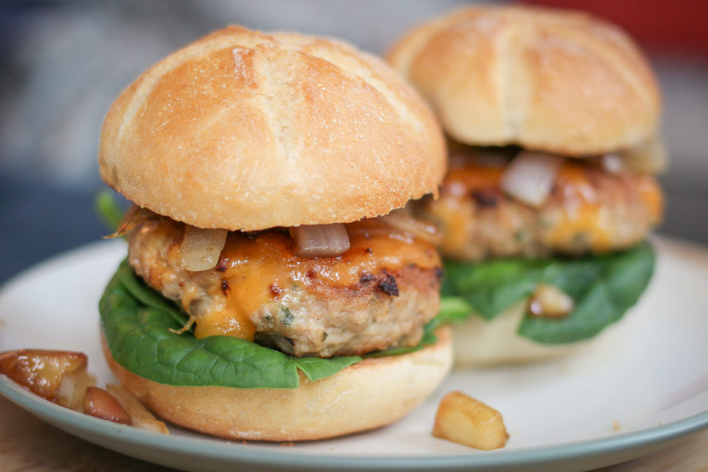 Turkey Burger Sliders