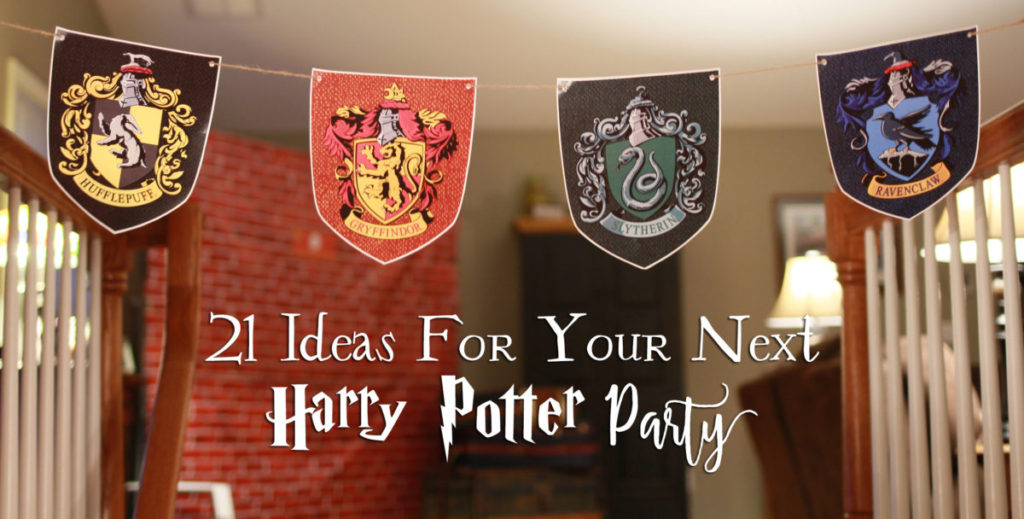 harry potter party ideas crafts 21 diy ideas for your next harry potter another 6695